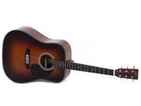 SIGMA DM-1ST-SB, akustická kytara VÝBĚR, polomasiv, sitka
