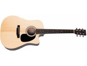 SIGMA DMC-STE-WF, elektro-akustická kytara VÝBĚR, masiv, sitka, 44,5mm