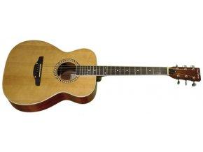TREMBITA L6-N westernová kytara, dreadnought, polomasiv smrk/javor,tělo OOO - VÝBĚR!!!