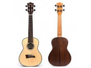 EBE MI0671 ukulele polomasiv smrk, hmatník palisandr, VÝBĚR!!! (KMISE)