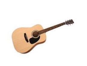 SIGMA DT-ST, akustická kytara dreadnought VÝBĚR, masiv, sitka, palisandr, mat, nultý pražec 43 mm