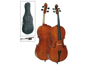 AUGUSTINIUM LEONARDO LC 2044 SET violoncello, struník Wittner, struny Prelude