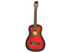 PECKA CGP-12 RB VÝBĚR kytara 1/2 klasika - Redburst