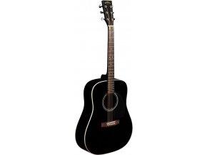 SIGMA DM-1ST-BK, akustická kytara VÝBĚR, masiv, sitka, černá