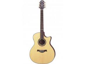 CRAFTER GAE 698 SP/N W/SB-DG el.akustická kytara + kufr