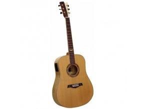 GILMOUR MKII Queen EQ westernová kytara celomasiv