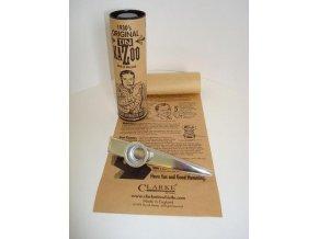 CLARKE MKGDXL kazoo silver