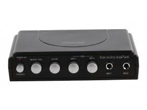 KÖNIG karaoke mixer, černý