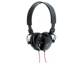 KNG 5050 Stylo sluchátka, červeno-černá