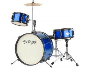 STAGG TIM JR 3/16 BL MK II, dětská bicí sada, modrá