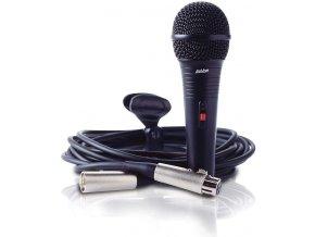 ASHTON DM 50C mikrofon dynamický s vypínačem + kabel XLR/XLR