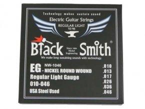 BLACK SMITH NW-1046 struny elektrická kytara nickel (EG-010)