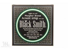 BLACK SMITH PB-1253 struny akustická kytara fosfor bronz (AGPB-012)