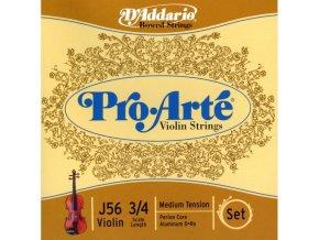 D'ADDARIO Pro Arte struny na housle 3/4 MB10