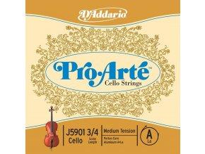 D'ADDARIO Pro Arte struny na violoncello 3/4 J5934MB10