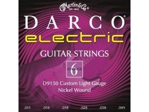 DARCO D9150 CL 011 struny na elektrickou kytaru