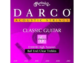 DARCO D30HB nylonové struny na kytaru - sada