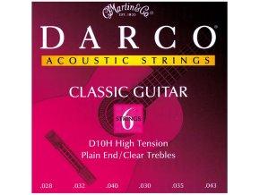 DARCO D10H nylonové struny na kytaru - sada