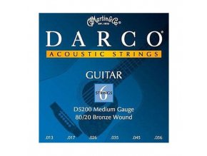 DARCO D5200 13-56 struny western kytara