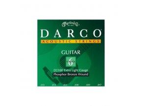 DARCO D2100 010X Phoshpor Bronze struny na akustickou kytaru
