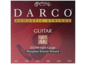 DARCO D2200 012L PB struny western kytara