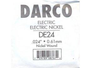 DARCO DE24 jednotlivá struna na el. kyt. G 024