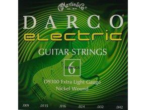 DARCO D9300 XL 009 struny na elektrickou kytaru