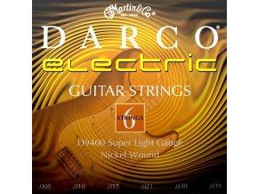 DARCO D9400 SL 008 struny na elektrickou kytaru