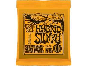"""ERNIE BALL 2222 Hybrid Slinky 009-046"""" - struny na elektrickou kytaru"""