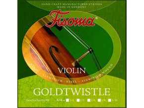 FISOMA F1000 struny na housle, ručně vynuté
