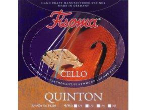 FISOMA QUINTON F1210 struny na violončelo, ručně vinuté