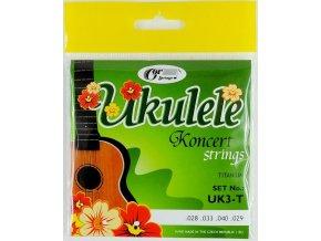 GORSTRINGS UK3-T struny ukulele koncert Titan