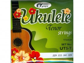 GORSTRINGS UT5-T struny ukulele-Tenor/Titanium