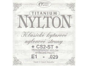 GORSTRINGS NYLTON CS2-ST .029 struna kytara E1