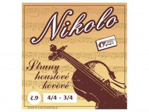 GORSTRINGS NIKOLO č.9 sada strun housle