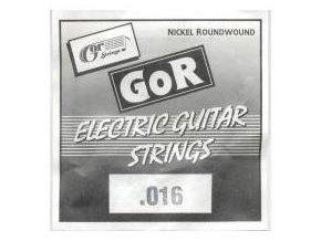 """GORSTRINGS 2N6-93 G  016"""" jednotlivá struna na elektrickou kytaru"""