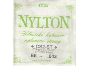 GORSTRINGS NYLTON CS2-ST .043 struna kytara E6