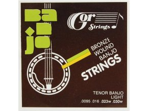 GORSTRINGS 7BB4-92 .0095/30 struny tenor banjo