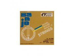 GORSTRINGS 81.NI4 11/32 struny tenor banjo