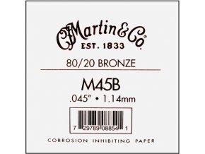 """MARTIN M45B jednotliva struna kytara 045"""""""