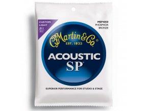 "MARTIN SP MSP4050 011-052"" Phosphor Bronze struny na akustickou kytaru"