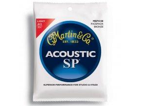 "MARTIN SP MSP4100 012-054"" Phosphor Bronze struny na akustickou kytaru"