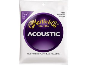 MARTIN M535 011CL Phosphor Bronze Custom Light 92/8 struny na akustickou kytaru