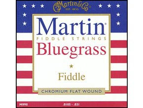 MARTIN M-990 struny na housle Chromium Fiddle, .010