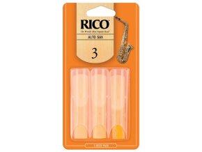 RICO RJA0330 3 PAK plátek Alt saxofon č.3