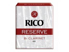 RICO RESERVE plátky klarinet Bb č.4 RCR0540