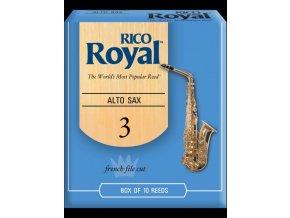 RICO RJB1030 Royal plátek Alt saxofon č.3