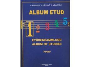 KLIENOVÁ  E., Fišerová A., Mullerová E. - Album etud 1