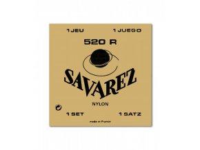 SAVAREZ 520R Carte Rouge nylonové struny na klasickou kytaru