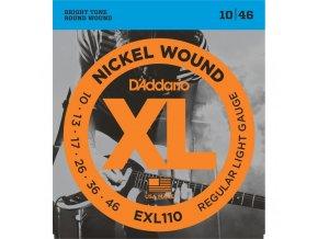 D'ADDARIO EXL110 ECO struny na el. kytaru, 10-46 nebalené